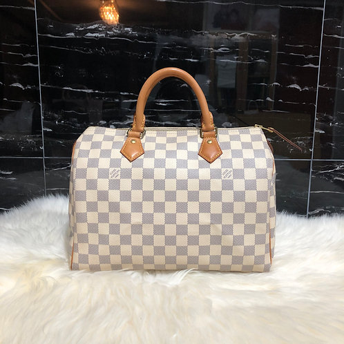 LOUIS VUITTON SPEEDY 30 DAMIER AZURE - BD0030