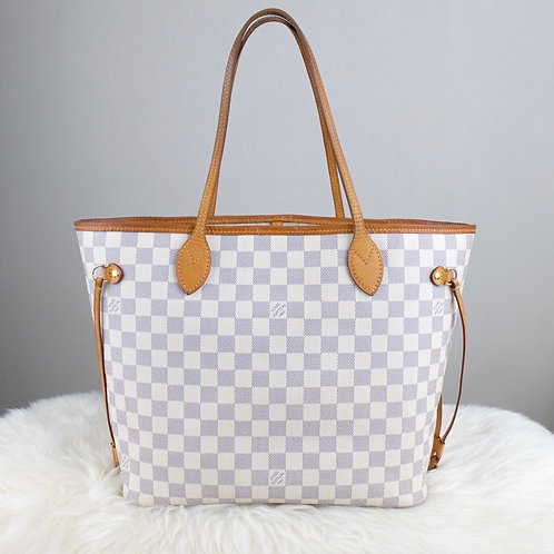 LOUIS VUITTON NEVERFULL MM DAMIER AZURE - BD0315