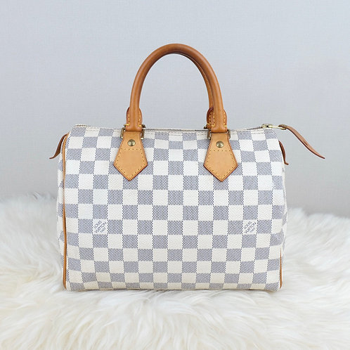 LOUIS VUITTON SPEEDY 25 DAMIER AZURE - SD1170