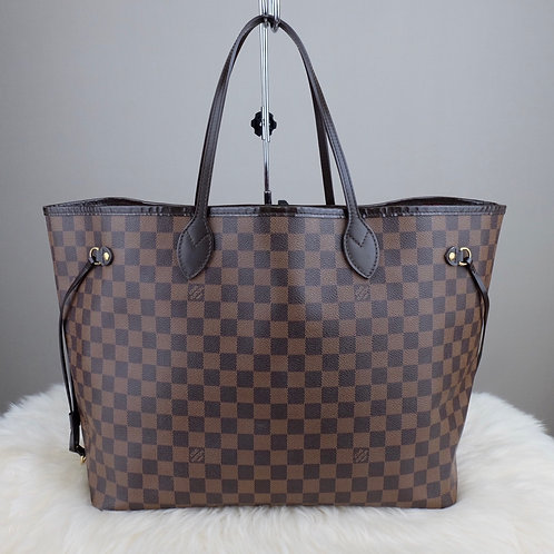 LOUIS VUITTON NEVERFULL GM DAMIER EBENE - BD0294
