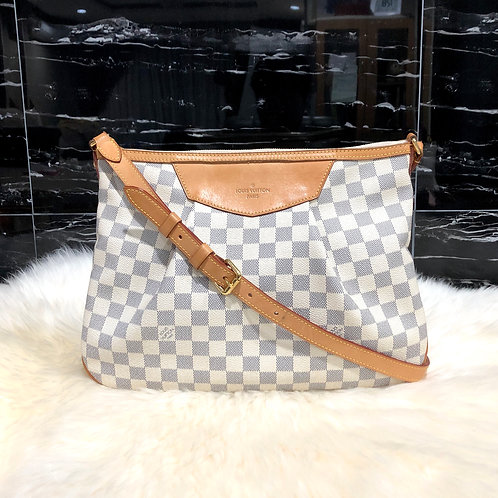 LOUIS VUITTON SIRACUSA MM DAMIER AZURE - BD0023