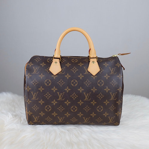 LOUIS VUITTON SPEEDY 30 MONOGRAM - MB2131