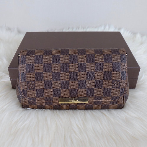 LOUIS VUITTON FAVORITE PM DAMIER EBENE- SA1126