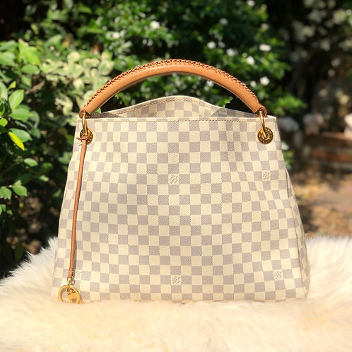 LOUIS VUITTON ARTSY MM DAMIER AZURE BD0005