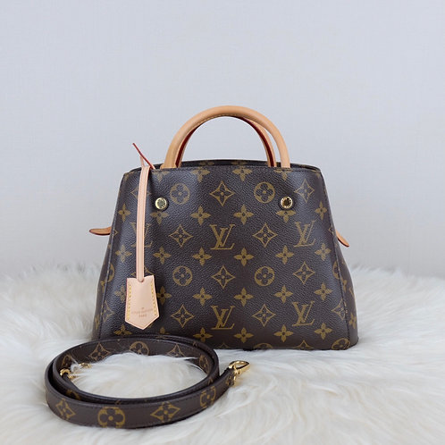 LOUIS VUITTON MONTAIGNE BB MONOGRAM - CA2144