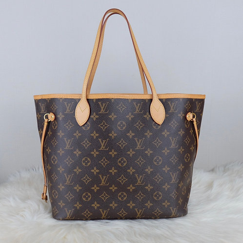 LOUIS VUITTON NEVERFULL MM CERISE MONOGRAM - AR4107
