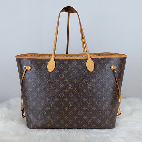 LOUIS VUITTON NEVERFULL GM MONOGRAM  - FL1068