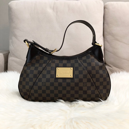 LOUIS VUITTON THAMES GM DAMIER EBENE 2009 - BD0002