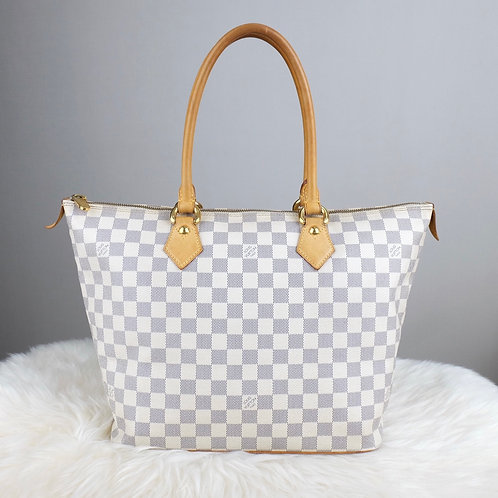 LOUIS VUITTON SALEYA MM DAMIER AZURE - BD0304