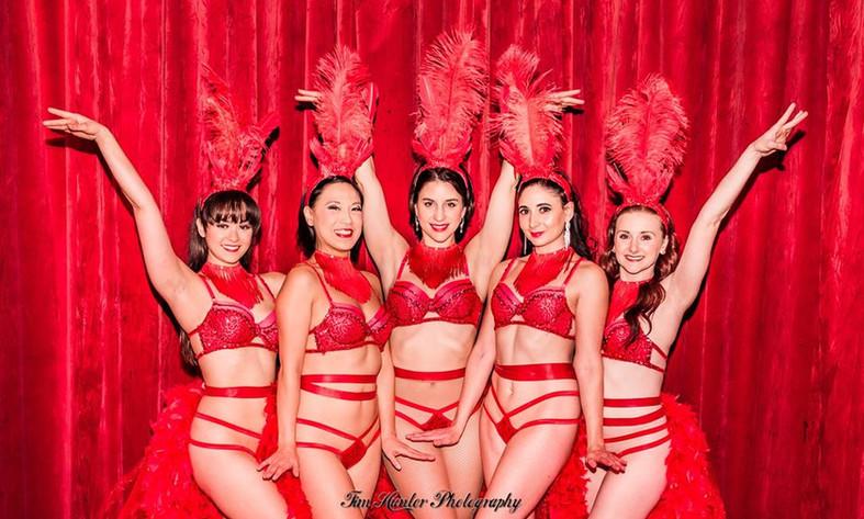Mambo #5 Showgirl The Dollface Dames.jpg