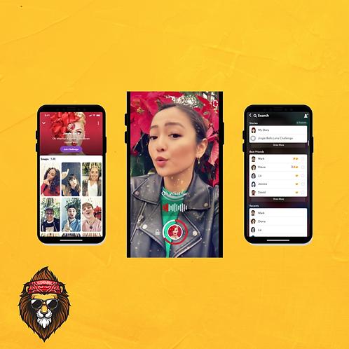 2D Snapchat AR