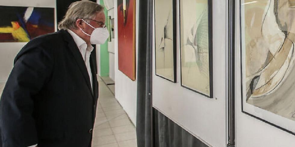 Ausstellung der Bilder vom Multitalent Jean Pierre Voissel
