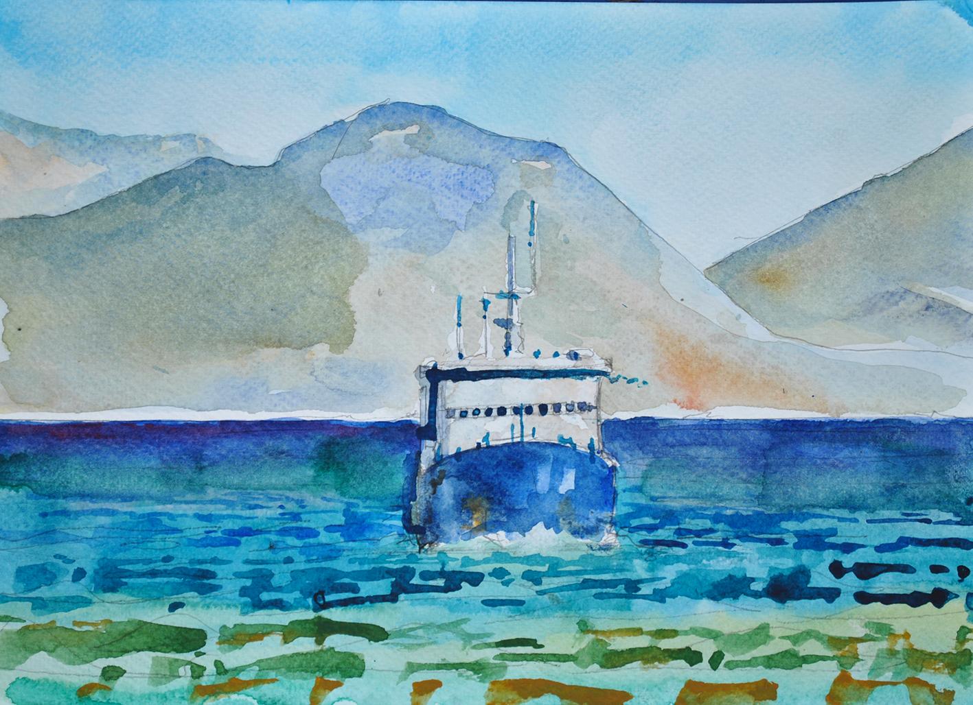 Ferry to Ithaka