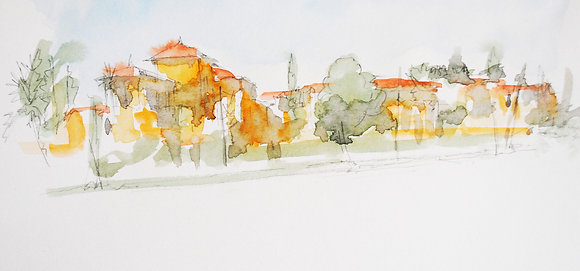 Sketch Barranco Peru