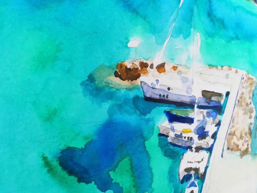 Harbour Astypalea