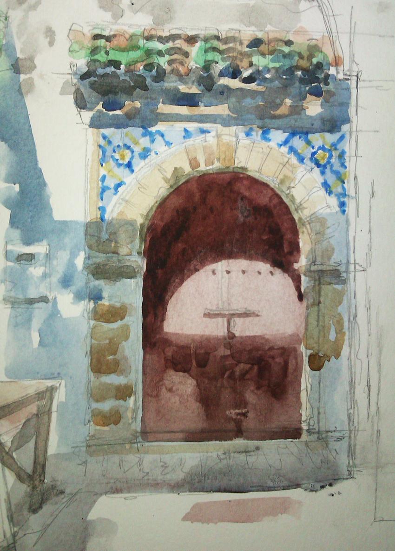 Doorway Essouira Morroco