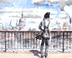 View to St Pauls, London