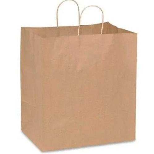 Kraft Paper Bag (Twisted Handle) - 280x150x280mm  (200pcs/carton)