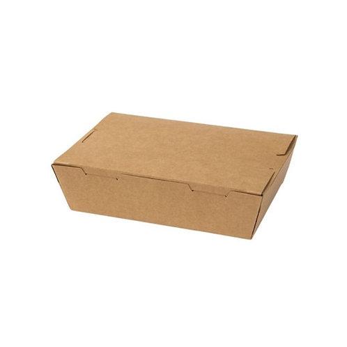 Kraft food box (M) - 180x120x50mm (200pcs/carton)