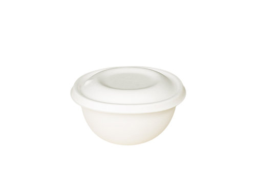 EKO Bagasse Bowl 500ml - 125x120x65mm (180sets/carton)