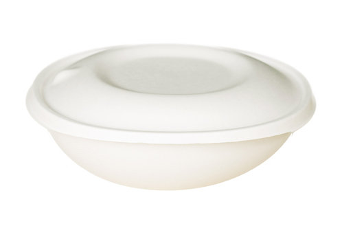 EKO Bagasse Bowl 1000ml - 200x190x60mm (120sets/carton)