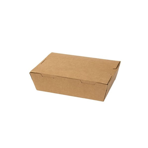 Kraft food box (XS) - 120x88x37mm (200pcs/carton)