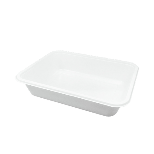 Fiber tray with lamination 1-comp - 227x176x45mm (320pcs/carton)