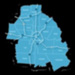 Charlotte metro map