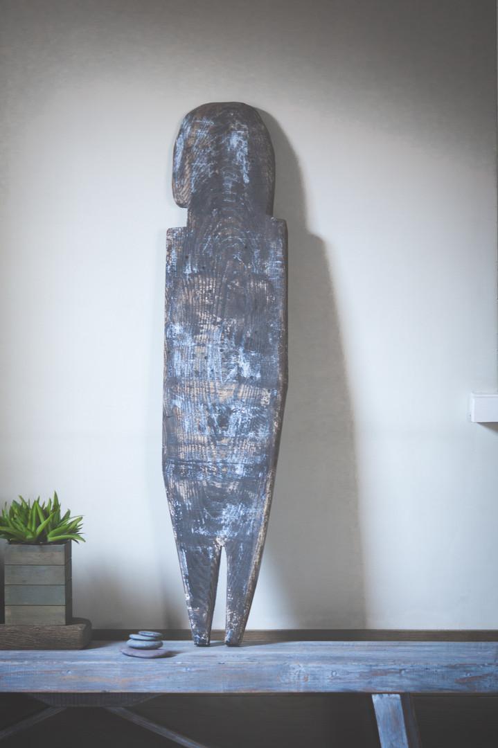 Oak tree sculpture