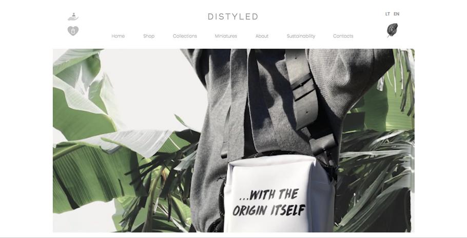 DISTYLED website
