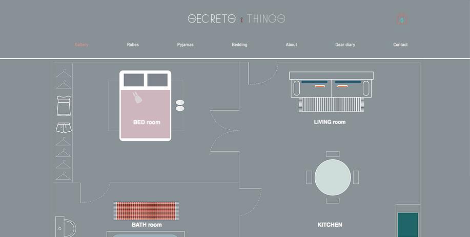 Secrets&Things website