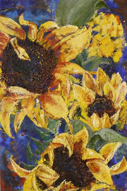 Flower Painting - Sunflower