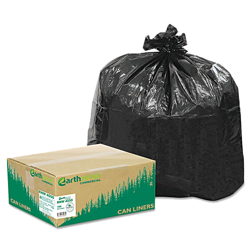 Recycled Can Liners, 31-33 gal, 1.25 mil