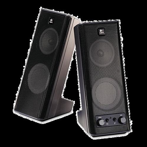 X-140 2.0 Speaker System, 4w x 5d x 9-1-2h