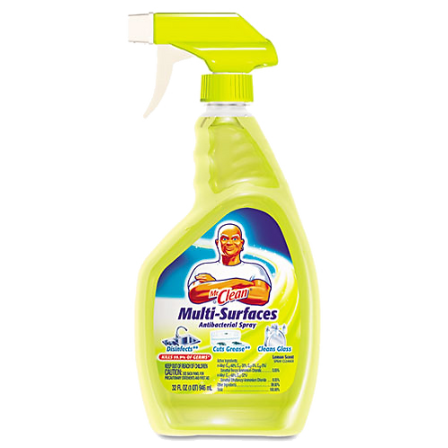 Multi-Surface Cleaner, Lemon, 32 oz. Bottle
