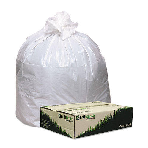 Recycled Tall Kitchen Bags13 gal,0.85 mil