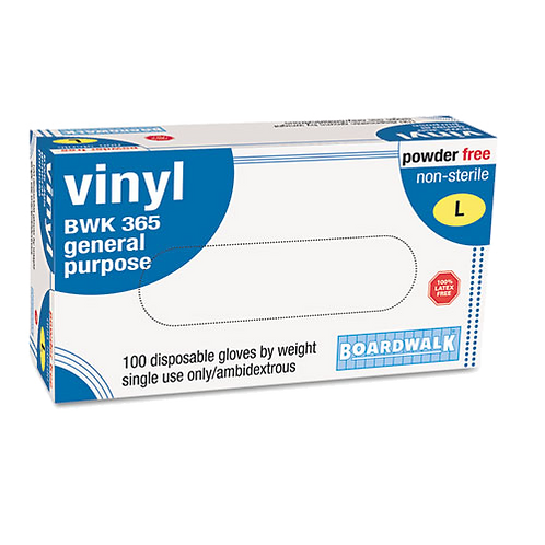 General-Purpose Vinyl Gloves, Latex-Free, 4 mils