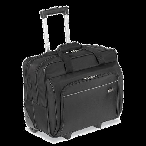 Rolling Laptop Case,1200D Polyester,Black