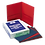 Thumbnail: Twin-Pocket Folder, Embossed Leather Grain Paper