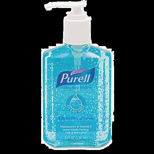 Ocean Mist Instant Hand Sanitizer,8oz. Pump Bottle
