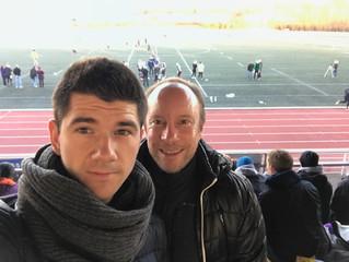 Après avoir encadré une équipe de jeunes étudiants kinés, nos kinés Nicolas Ancillon et Thomas Fritz