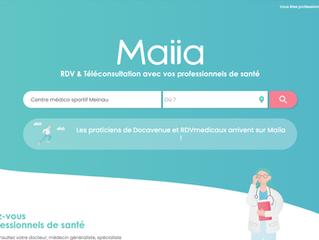 Ouverture de la prise de rendez-vous kiné en ligne via Maiia.
