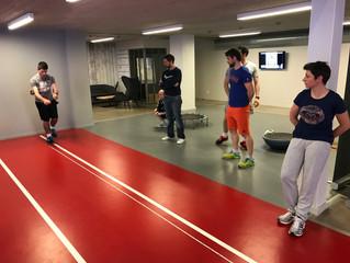 Les kinés du CMSM à Lyon chez Athletic