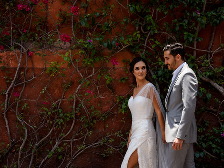 Valeria & Adrian: A fun wedding full of color and shine in San Miguel de Allende