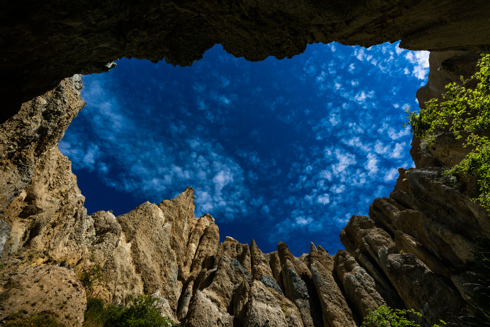 Clay Cliffs Photo Tour NZ