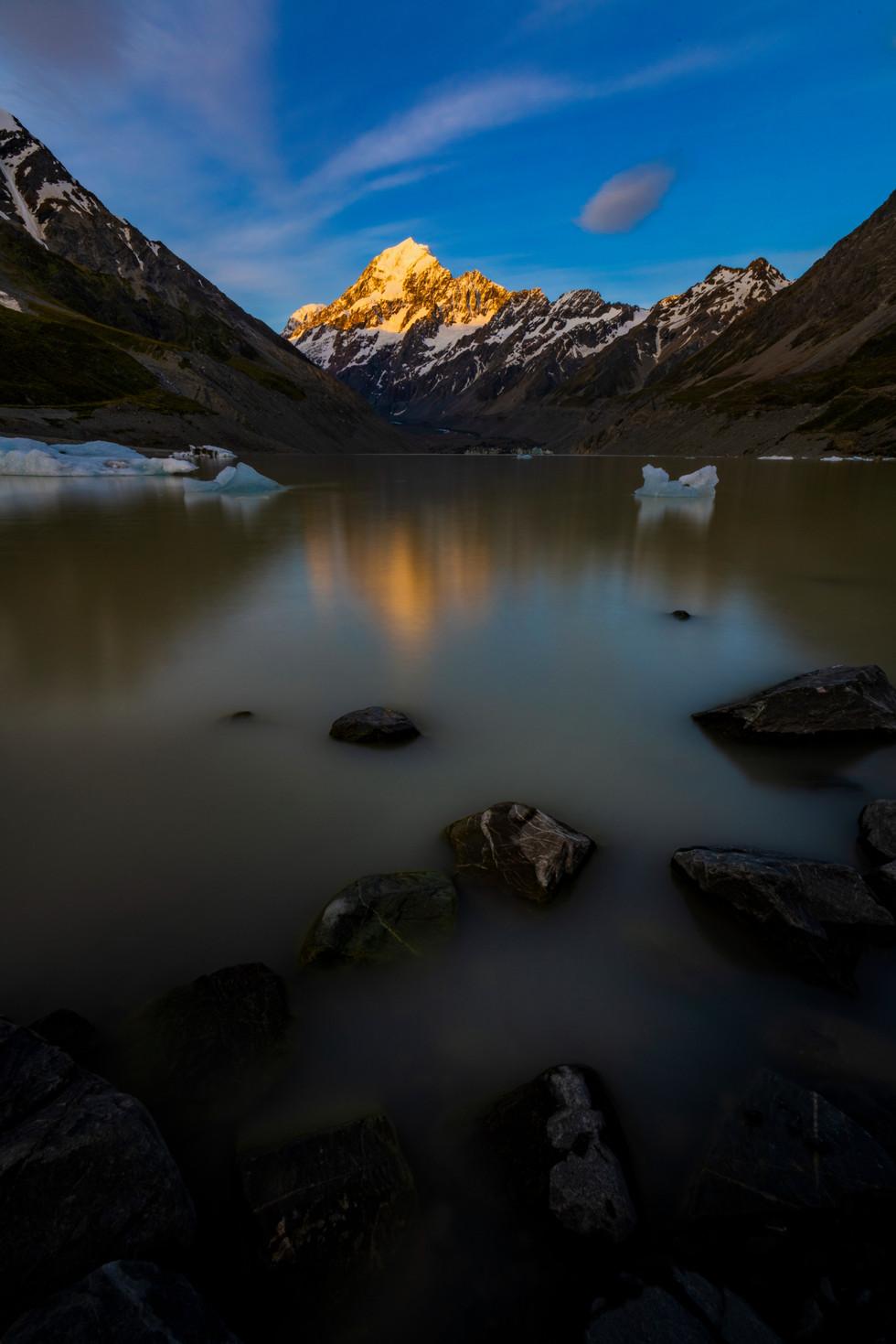 Tasman Lake Mt Cook Photo Tours