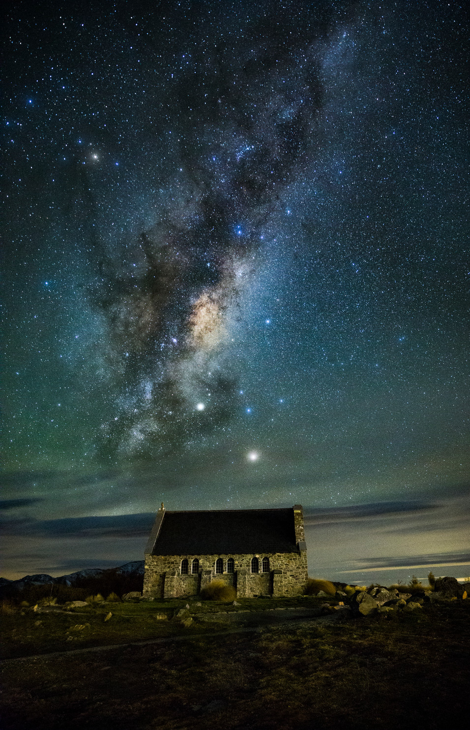 Lake Tekapo The Good Shepherd L