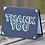 Thumbnail: Black Thank You Card