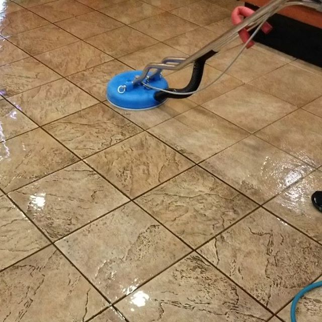 Restaurant Tile&grout cleaning