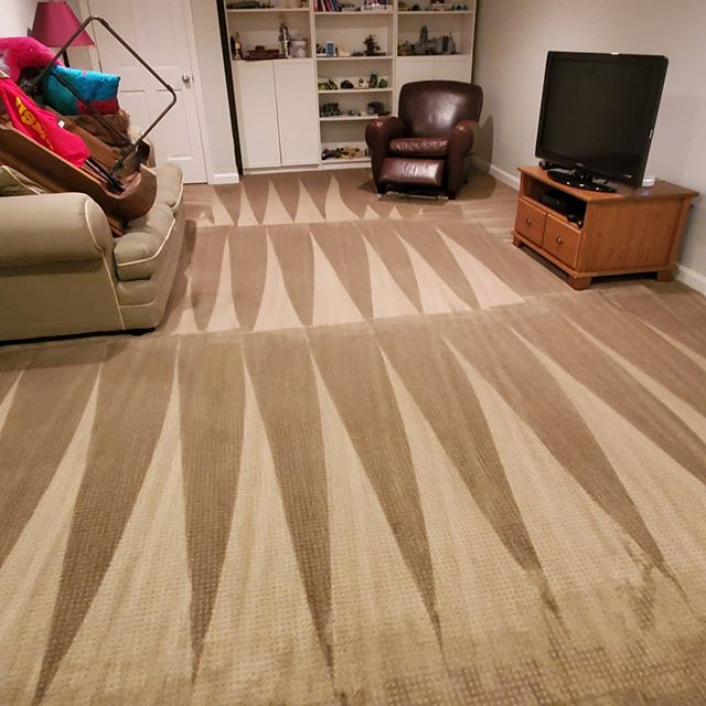 Keep the carpet as clean as possible to